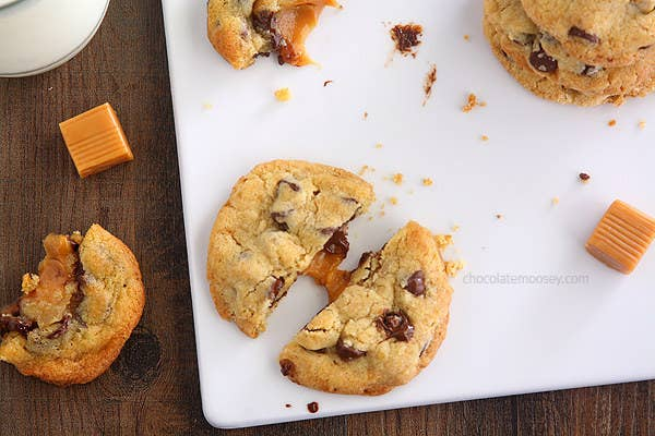 You can't go wrong stuffing a cookie with caramel. Get the recipe here.