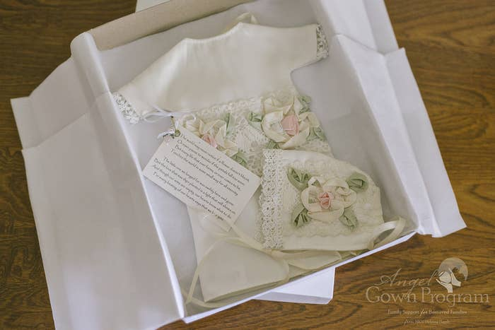Brides Are Turning Their Wedding Gowns Into Burial Gowns For Babies ...