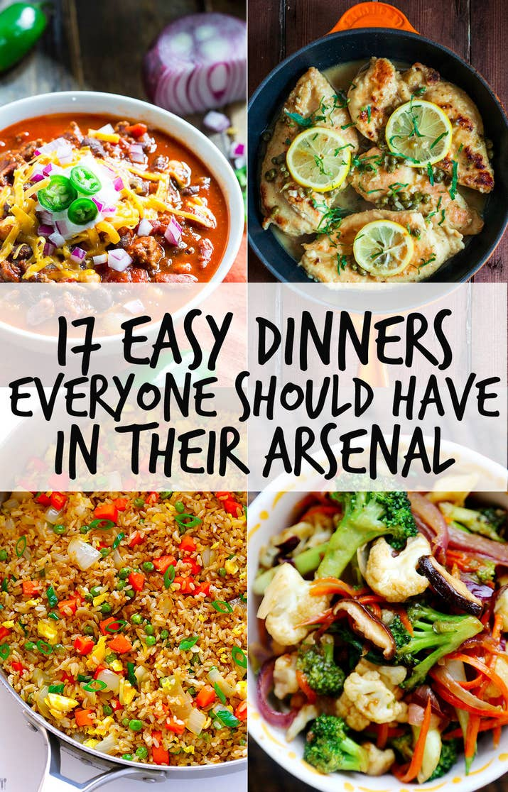 17 easy dinners everyone should have in their arsenal share on facebook share forumfinder Image collections