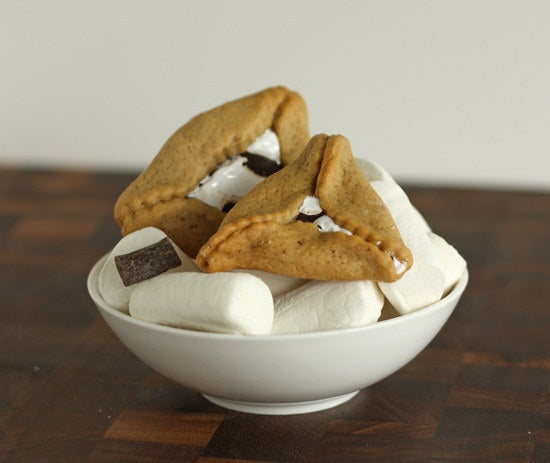 Everyone loves s'mores and everyone loves hamantaschen. Why didn't we think of this sooner?