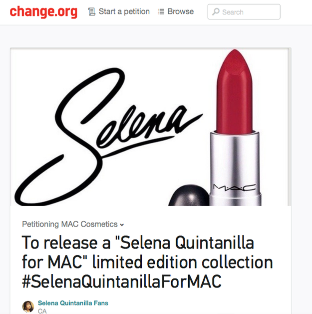 Would MAC Ever Release A Selena Makeup Collection
