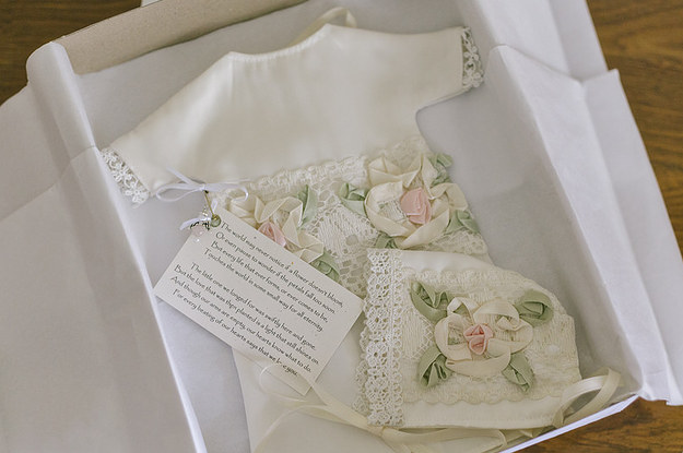 Brides Are Turning Their Wedding Gowns Into Burial For Babies Whove Died In The NICU