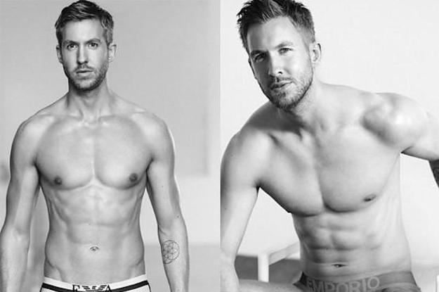 Calvin Harris Shirtless Calvin Harris Is A Fri...