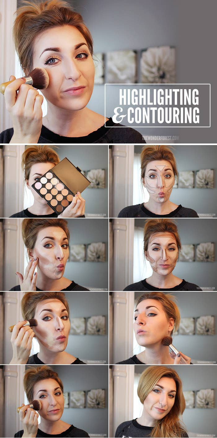 This May Seem Intimidating, But Once You See Where You Should Place A  Contour Color