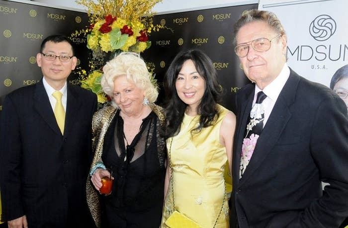 Former Oscar Nominees, Renee Taylor & Joe Bologna with Title Sponsor MD Sun Skin Care