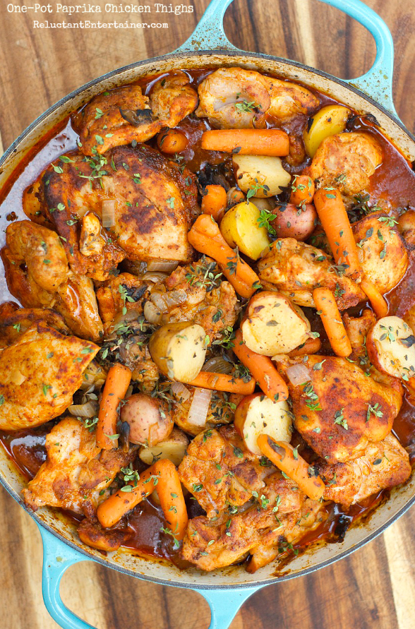 Recipes for one pot chicken meals