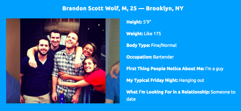 Hundreds Of Women Have Signed Up For The Dating Site This Guy Made For Himself