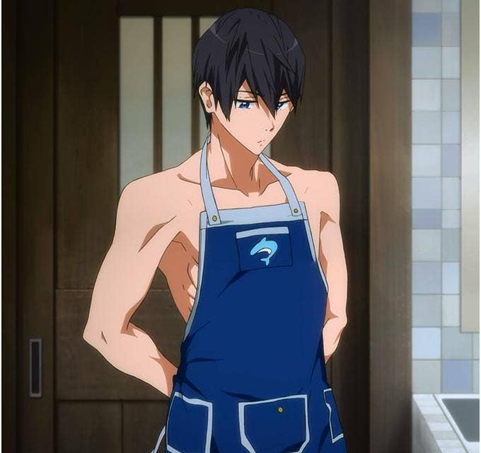 You don't need a shirt to cook right?