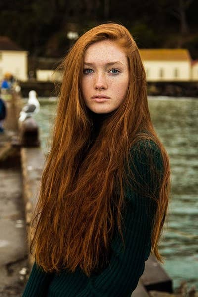 Long Hair Don't Care | Photos That Prove Women With Freckles Are Beautiful