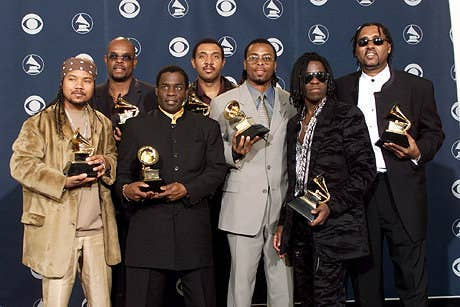 """Now before you start going, """"Who? Who? Who? Who? Who?"""" this fine group WON A GRAMMY FOR """"Who Let the Dogs Out"""". Where are they now? I don't know, but I'd like to think they've been dancing to their song on repeat since 2001."""