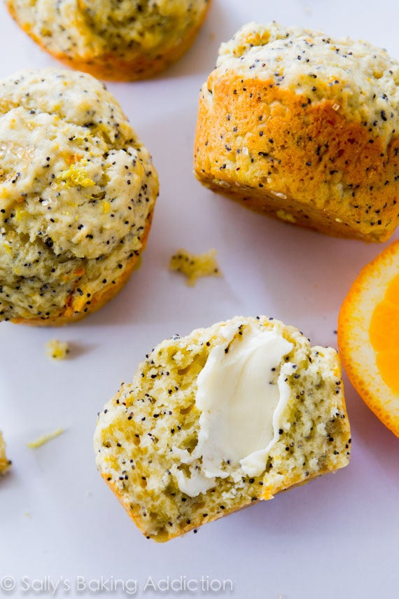 Recipe: Lemon Poppy Seed Muffins
