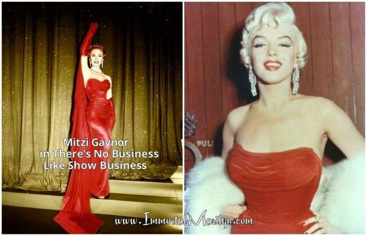 Fashion Deja Vu--Marilyn Monroe Edition