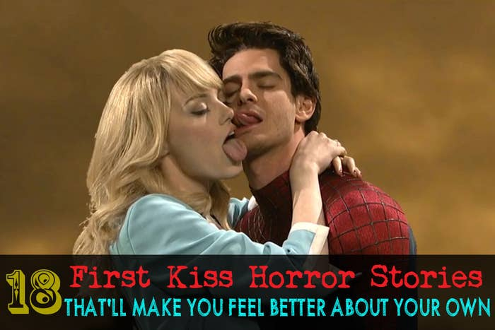 what does your first kiss feel like
