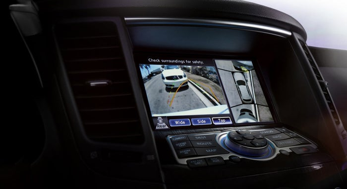Why It's Cool: While more cars nowadays are coming with rear-view cameras, companies like Ford and Infiniti are including cameras that allow drivers to see everything else around their car when driving. In fact, these futuristic cameras also come with sensors to actually inform you when you're about to hit something, saving you the confrontation and guilt.