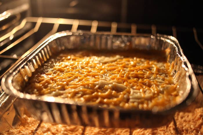 Take your favorite late night indulgence to the next level. Get the cheesy recipe here.