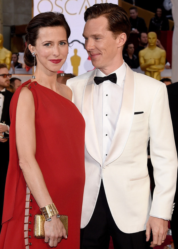 benedict cumberbatch forgot he was married at the oscars