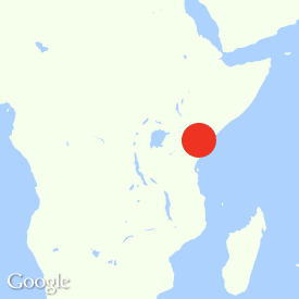 Map of Kwale, Kenya
