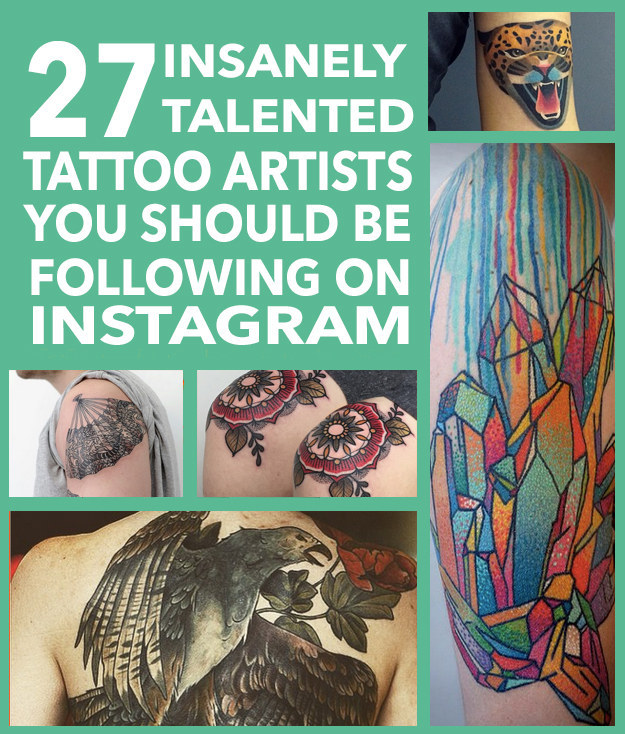 27 Insanely Talented Tattoo Artists You Should Be Following On Instagram