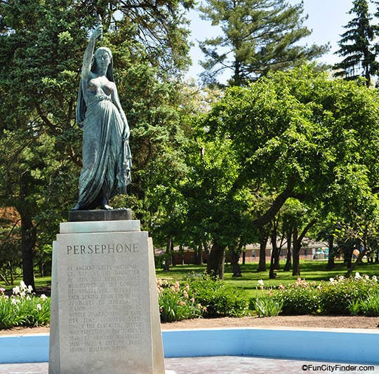Take advantage of the glorious spring weather and stroll down to Butler's Holcomb Gardens. String up a hammock and study or lay out a blanket to snooze in the sun. Make sure to visit the iconic Persephone statue, too! Enter to win: Use #ownindy to share your photo on Twitter or Instagram, or post it to the Own Indy Facebook wall.