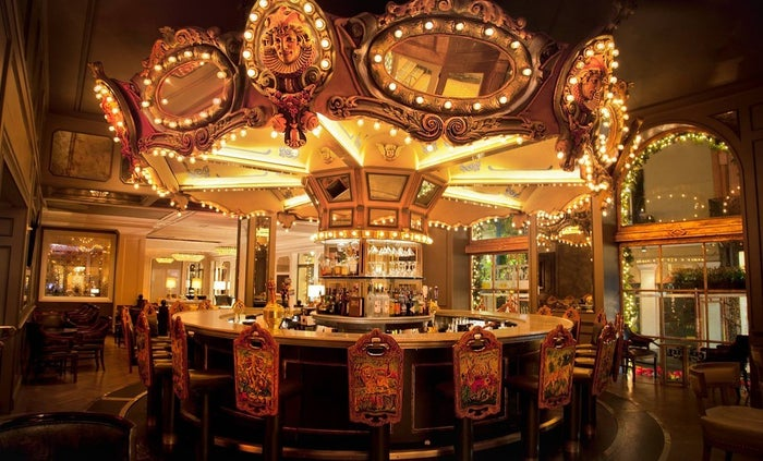 The Carousel Bar & Lounge in Hotel Monteleone is a French Quarter staple, having been in business for 65 years. Inside, visitors can enjoy a cocktail while going for a spin on the gorgeous merry-go-round.—submitted by Trina Bazzell, Facebook