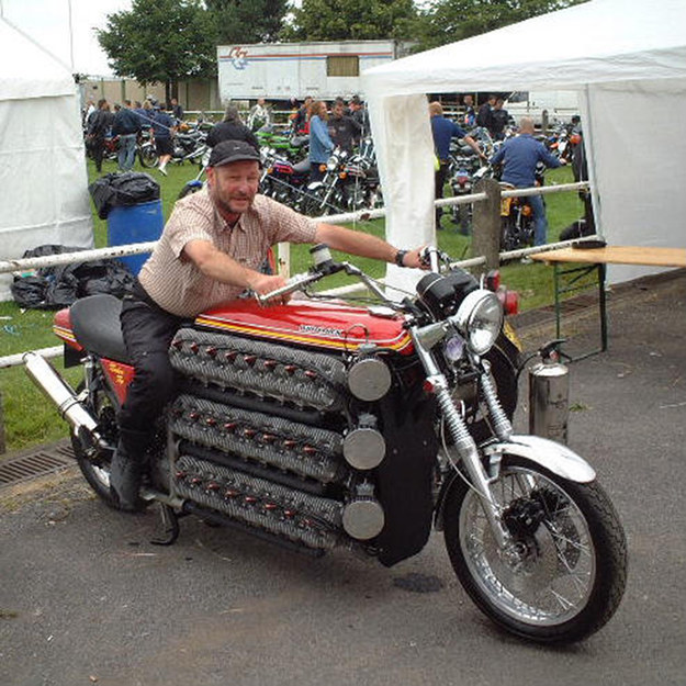 This motorcycle.