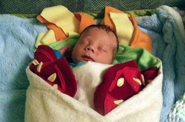 This Blanket Will Turn Your Baby Into A Burrito