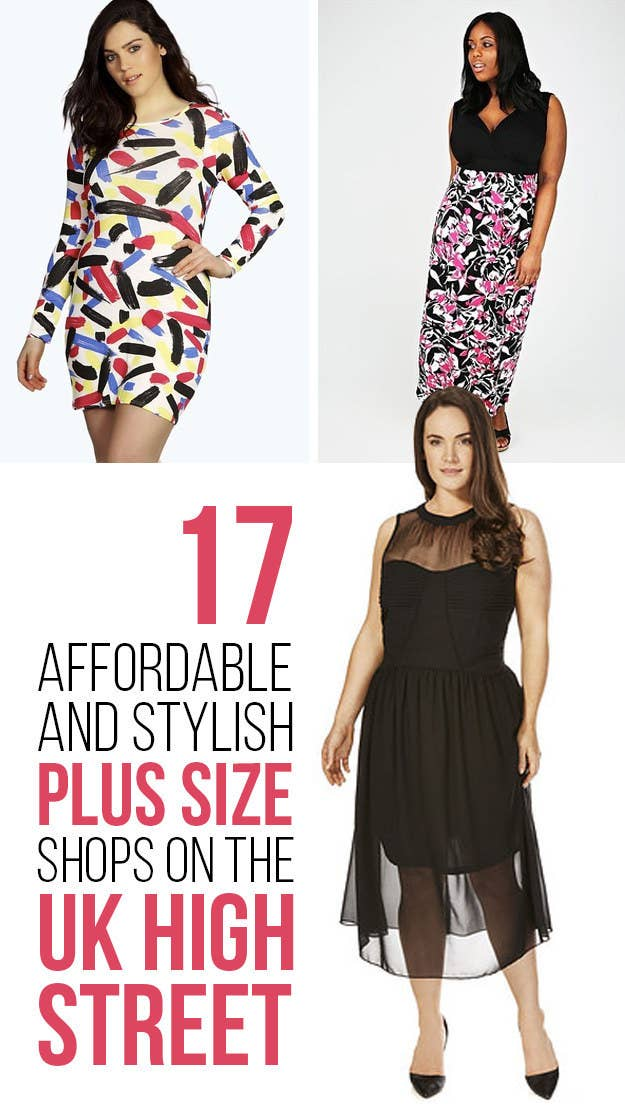 88d4b3a2c1e 17 Stylish And Affordable Plus-Size Shops On The High Street