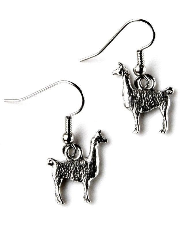 Llama Earrings, $9.50