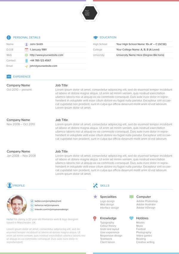 Free Résumé Designs Every Job Hunter Needs - Resume template pages