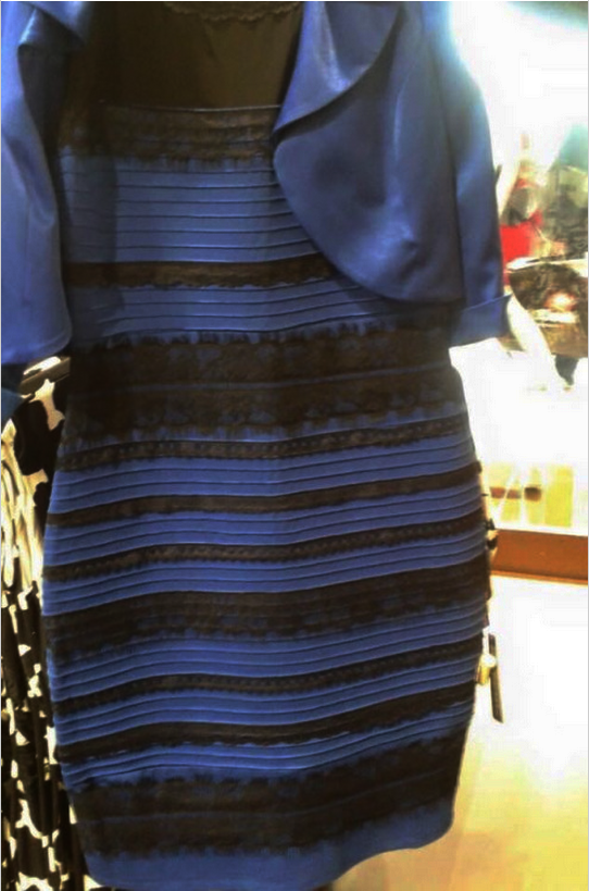 Black and blue dress white and gold buzzfeed careers