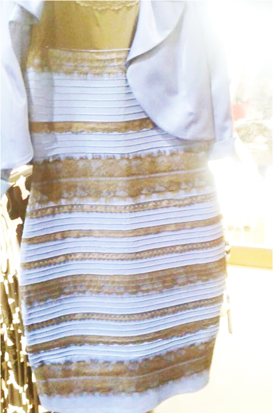 Blue black white gold dress buzzfeed animals