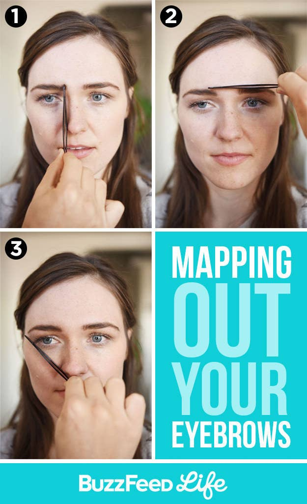 How To Fill In Shape Tweeze Trim And Transform Your Eyebrows - How focal lengths can change the shape of your face