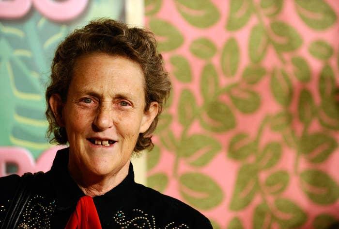 Autism advocate Temple Grandin.