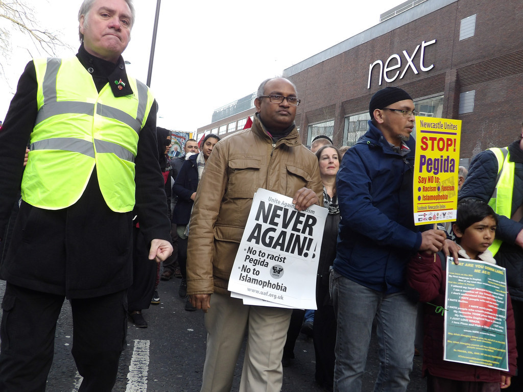 Anti-Muslim Group Pegida Massively Outnumbered By Opponents At First UK Rally
