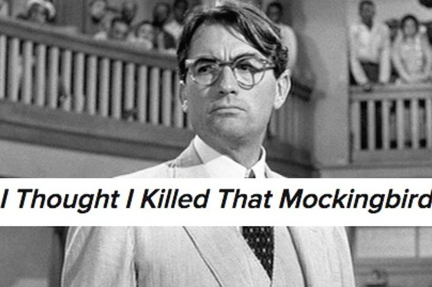 hilarious title suggestions for the to kill a mockingbird sequel