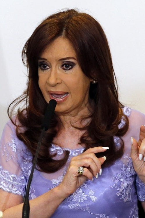Cristina Fernández de Kirchner,