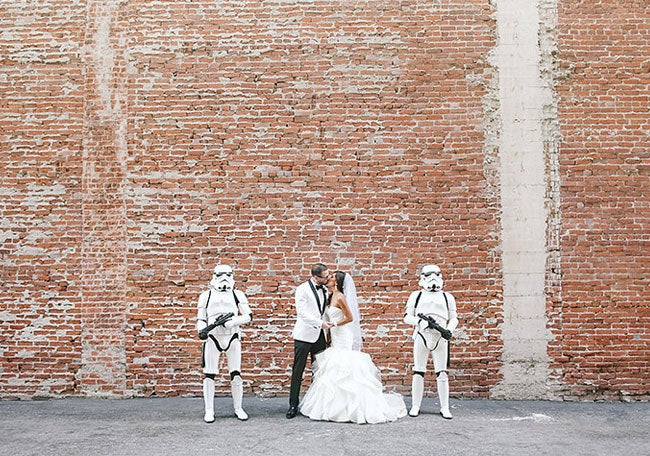 They got married at loftSeven in Los Angeles.