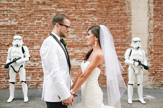 Star Wars wedding Ideas with Stormtroopers