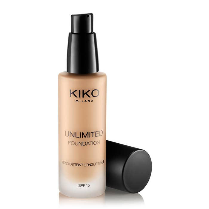 """""""Kiko's unlimited foundation, along with pretty much every other Kiko product! Kiko has become my favourite make up range, with foundations with colours to suit different undertones and skin colours for less than £15!""""Recommended by Heather Cadden on Facebook"""