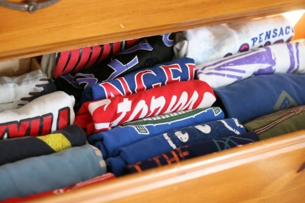 This is what your drawers might look like with the method.