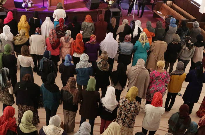 """The mosque aims to provide women-led jummah prayer for """"women and children (including boys 12 and under) once a month in Southern California."""""""