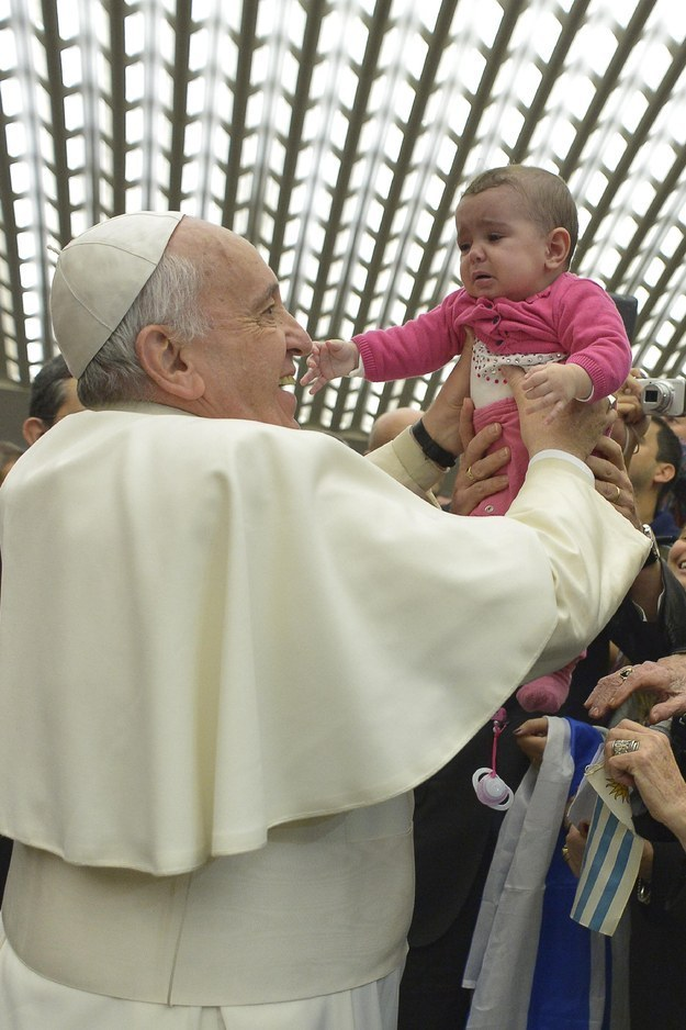 Pope Endorses Referendum Denying Marriage And Adoption Rights To Same-Sex Couples
