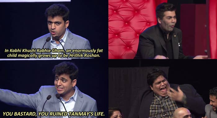 """The roast was uploaded to YouTube on January 28, and swiftly went viral, amassing about 10 million hits across all three parts. It also sparked a wide controversy across Indian media, and on Feb. 2, the police began an inquiry into the show, based on a complaint against Johar, Kapoor, and Singh for obscenity.Since the filing of this report, other organisations have also begun filing police complaints against the comedy show. A Catholic group called Maharashtra Christian Youth Forum has filed a complaint, claiming that the show was """"against Christ.""""Vinod Tawde, the cultural affairs minister of Maharashtra, tweeted: """"On #AIBRoast, will only enquire if the AIB had taken appropriate certificate. No moral policing if they r allowed by law, I can't stop them.""""Reportedly, Raj Thackeray-led Maharashtra Navnirman Sena (MNS) has also issued a threat, to Johar, Kapoor, and Singh, stating that they will not release any of their films in Maharashtra unless they tender an """"unconditional apology"""". They have also asked AIB to provide an apology.On February 3, All India Bakchod took down all three parts of the roast from YouTube."""
