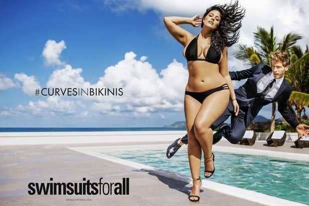 dec1848953cfb Everybody's been talking about how model Ashley Graham will appear in an ad  in this year's Sports Illustrated swimsuit issue.
