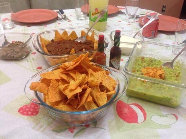 Aos 25: comida mexicana é sempre uma ótima ideia.