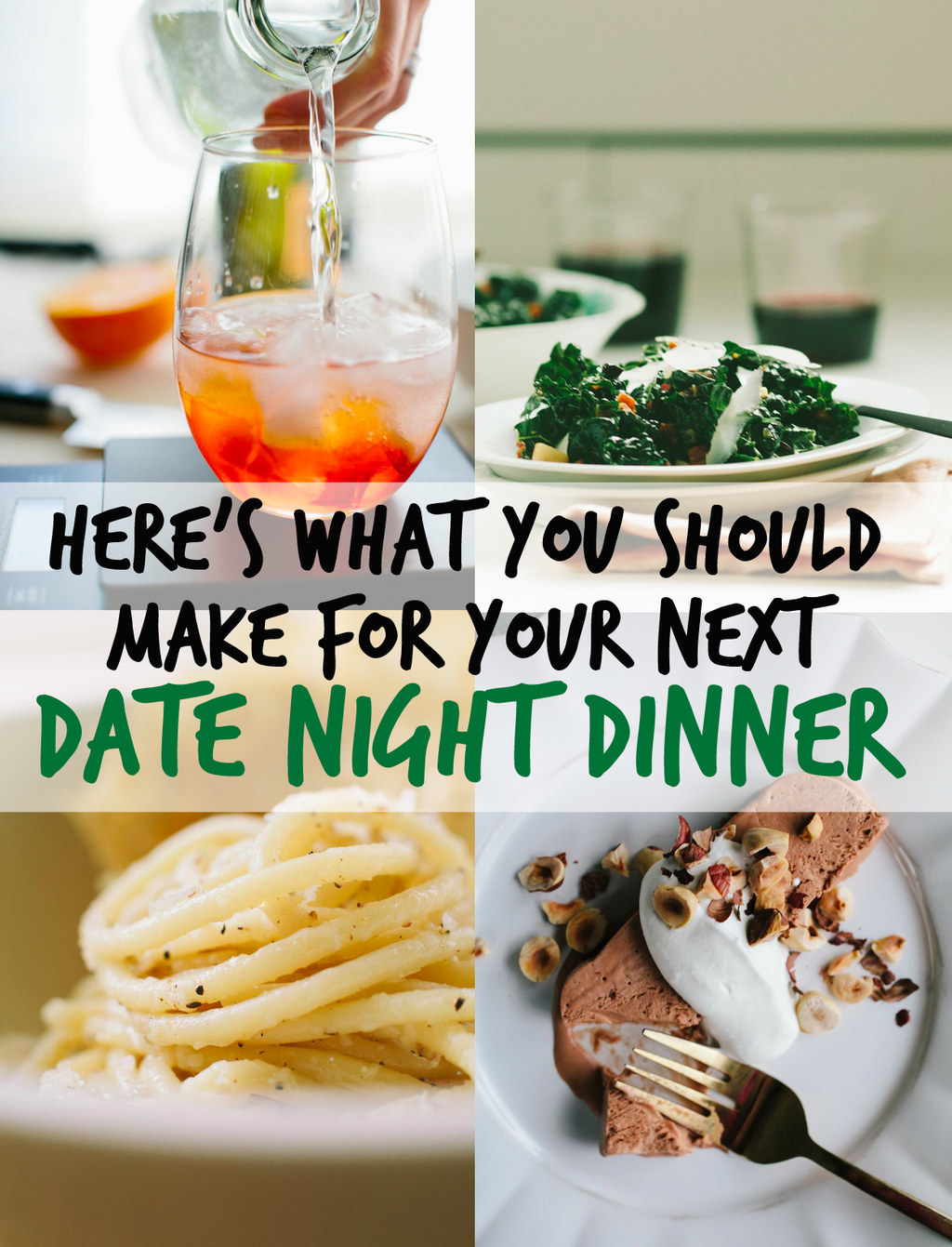 Here's What You Should Make For Your Next Date Night Dinner