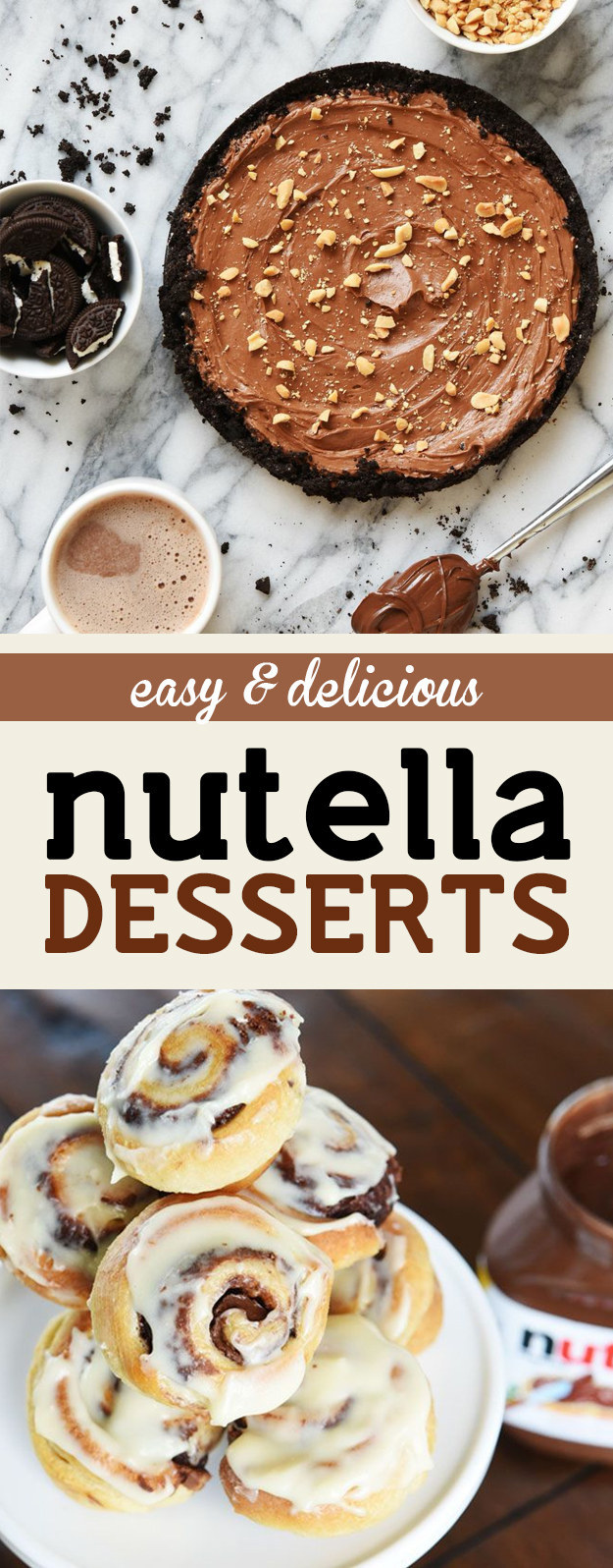 These Easy and Inexpensive Nutella Desserts Are All You Need In Life