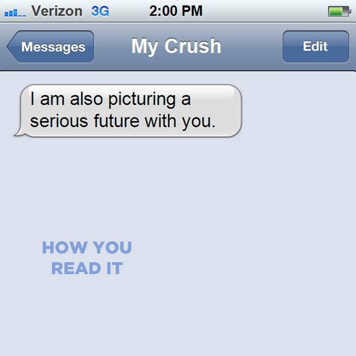how do i text my crush