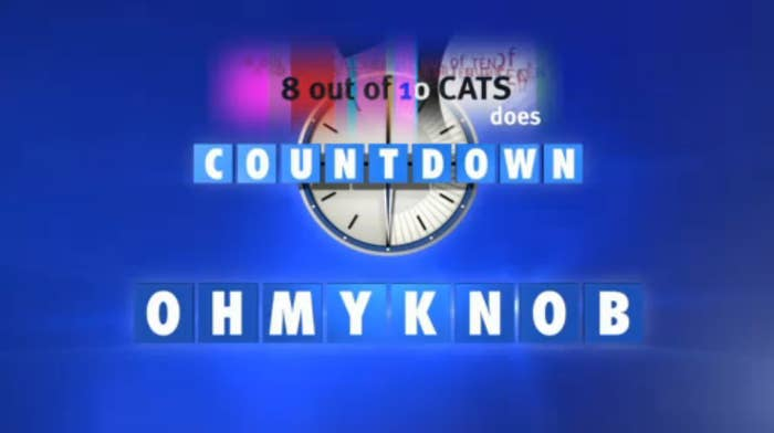 countdown conundrums with answers