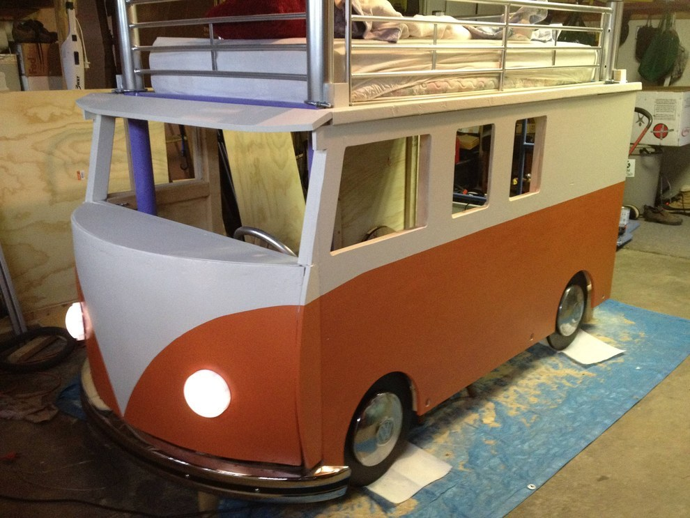 This Dad Built His Daughter The Coolest Volkswagen Bus Bed